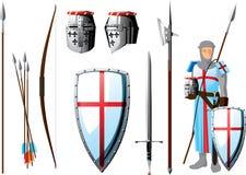Grupo do cruzado ilustração royalty free