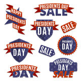 Grupo do dia dos presidentes Imagem de Stock