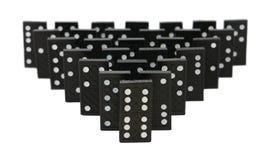 Grupo do dominó Imagens de Stock