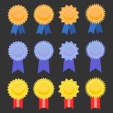 Grupo do emblema Imagens de Stock