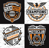 Grupo do emblema das insígnias dos esportes ilustração royalty free