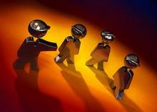 Grupo do ferro Ilustração Royalty Free