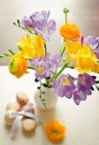 Grupo do Freesia Imagens de Stock Royalty Free