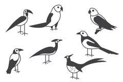 grupo do glyph ilustração stock