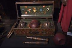 Grupo do jogo de Quidditch Fotos de Stock Royalty Free