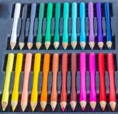 Grupo do lápis da coloração Imagem de Stock Royalty Free
