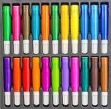 Grupo do lápis da coloração Fotos de Stock