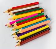 Grupo do lápis da coloração Imagens de Stock