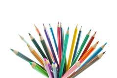 Grupo do lápis da cor Fotos de Stock