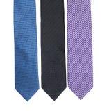 Grupo do laço, três laços elegantes Imagens de Stock