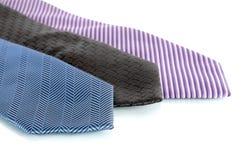 Grupo do laço, três laços elegantes Imagem de Stock