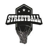 Grupo do logotipo de Streetball ilustração do vetor