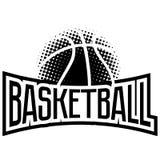 Grupo do logotipo de Streetball ilustração royalty free