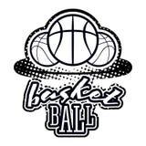 Grupo do logotipo de Streetball Fotografia de Stock