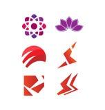 Grupo do logotipo do vetor Imagem de Stock