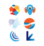 Grupo do logotipo do vetor Imagens de Stock