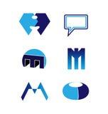 Grupo do logotipo do vetor Imagem de Stock Royalty Free
