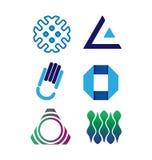 Grupo do logotipo do vetor Fotografia de Stock