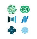 Grupo do logotipo do vetor Fotografia de Stock Royalty Free