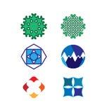 Grupo do logotipo do vetor Foto de Stock Royalty Free