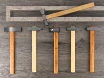 Grupo do martelo Imagens de Stock
