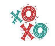 Grupo do Natal e do ano novo ilustração do vetor