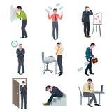 Grupo do negócio da falha ilustração stock
