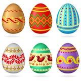 Grupo do ovo da páscoa Foto de Stock