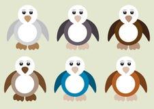 Grupo do pinguim Imagem de Stock