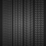 Grupo do pneu da roda Imagens de Stock