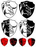 Grupo do projeto do búfalo ilustração royalty free
