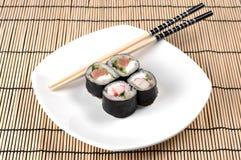 Grupo do sushi Imagens de Stock Royalty Free