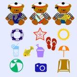 Grupo do urso Imagem de Stock