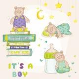 Grupo do urso do bebê Fotos de Stock Royalty Free