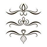 Grupo do vetor da tatuagem fotos de stock royalty free