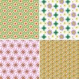 Grupodo vetor de de fundo floral Fotos de Stock