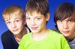 Grupo dos adolescentes Imagem de Stock