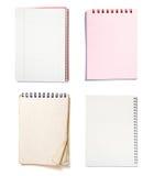 Grupo dos cadernos Imagens de Stock Royalty Free