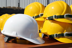 Grupo dos capacetes Imagens de Stock Royalty Free