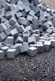 Grupo dos cubos Imagem de Stock