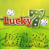Grupo dos dados do casino Fotografia de Stock Royalty Free