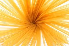 Grupo dos espaguetes no fundo branco Fotos de Stock Royalty Free