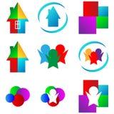 Grupo dos logotipos 01.06.13 Imagem de Stock
