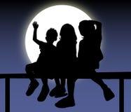 Grupo dos miúdos! Imagens de Stock Royalty Free