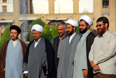 Grupo dos Mullahs fotos de stock