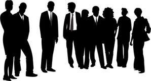 Grupo dos povos Imagem de Stock Royalty Free