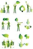 Grupo dos povos de Eco, negócio Fotografia de Stock