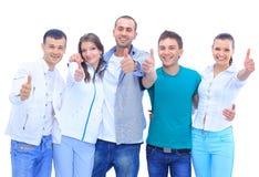Grupo dos povos de sorriso novos Fotografia de Stock