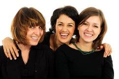 Grupo feliz de amigos Imagem de Stock