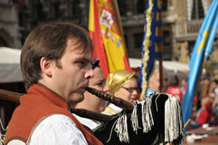 Grupo Folklorico Centro Asturiano Royalty Free Stock Image